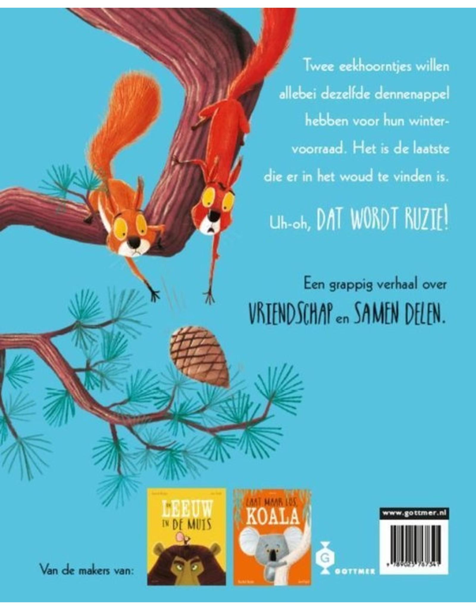Boek - Twee vechtende eekhoorntjes