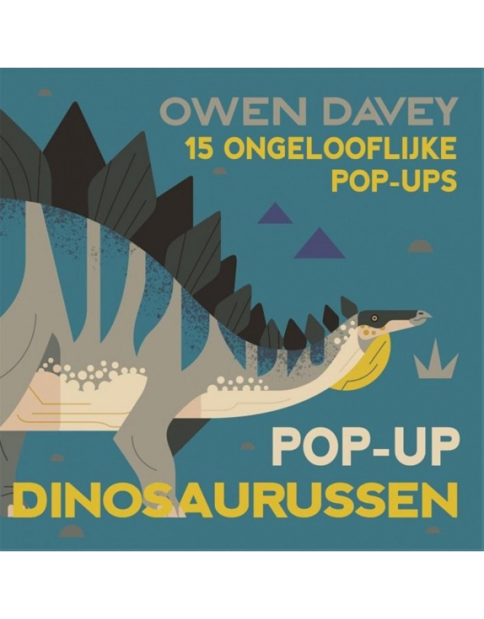Boek - Pop-up dinosaurussen