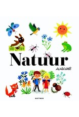 Harlekijn Boek - Natuur, peuterboek in retro-look