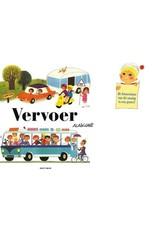 Harlekijn Boek - Vervoer, peuterboek in retro-look