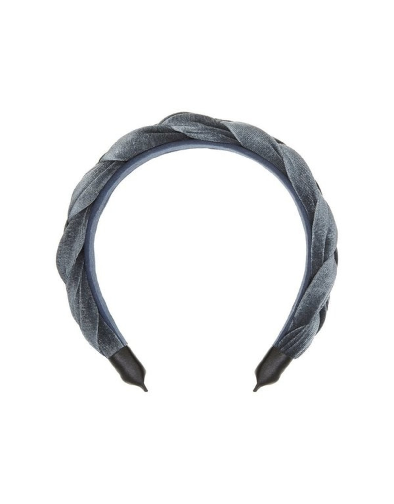 Mimi and Lula M&L - Plaited Velvet Alice Band