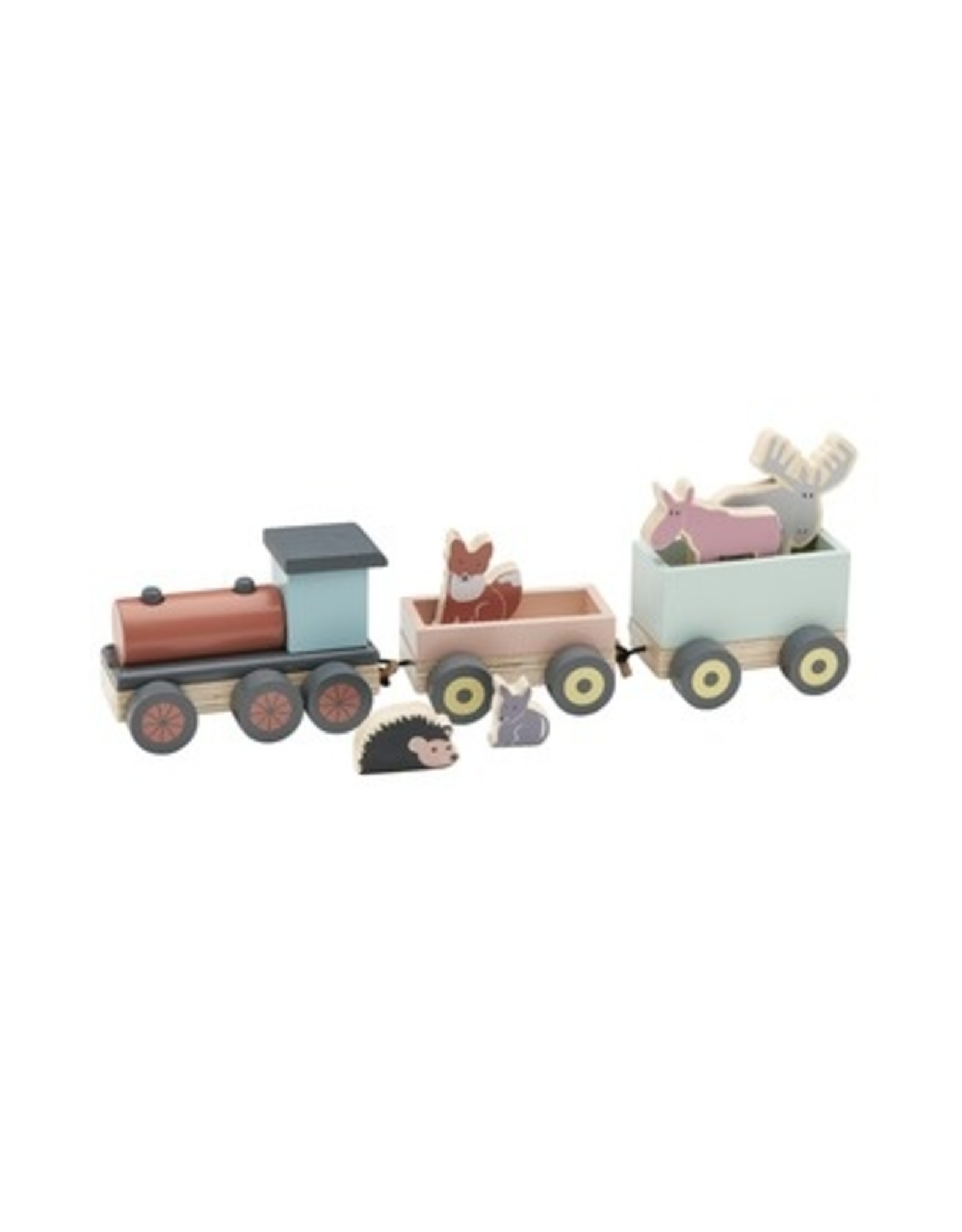 Kids Concept KC - Speeltrein met diertjes Edvin