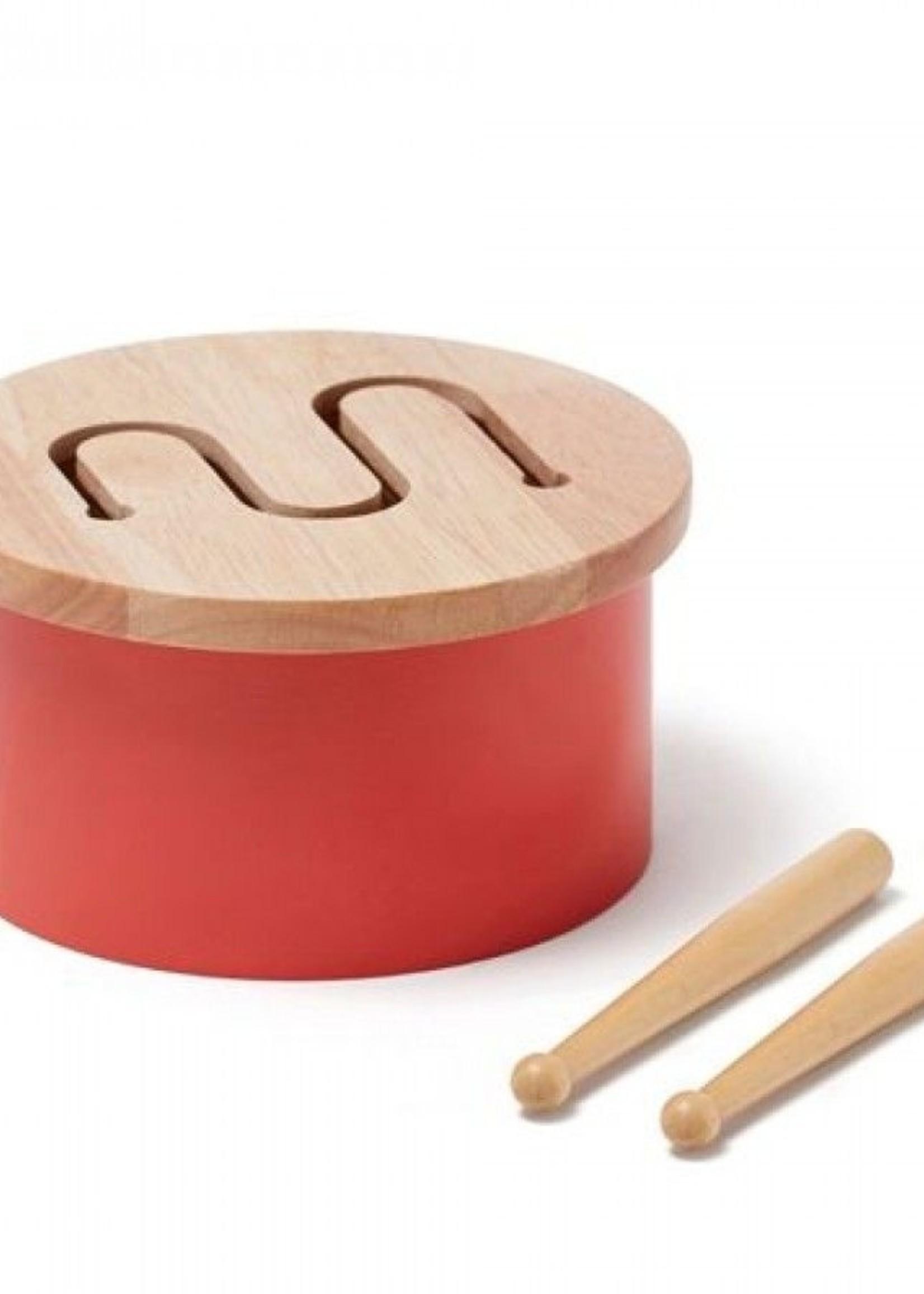 Kids Concept KC - Trommel mini Rood