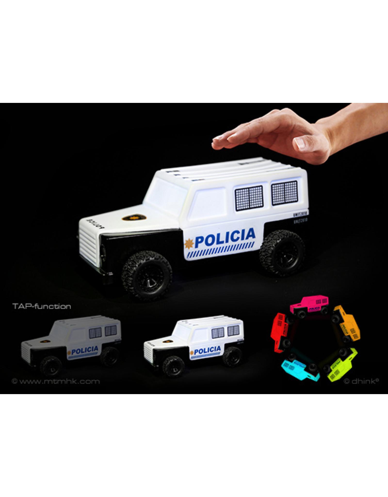Dhink Dhink - Nightlight (TOY CAR/LIGHT) - Police Department - black/white