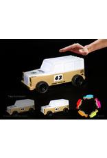 Dhink Dhink -  Nightlight (TOY CAR/LIGHT) - Safari Department Cream/white