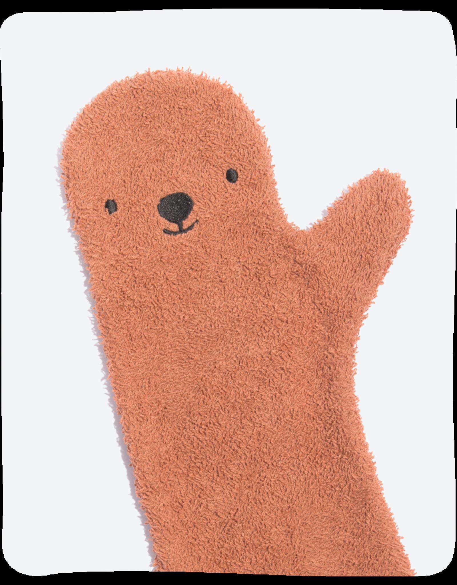 Invented 4 Kids Baby Shower Glove Brown Bear