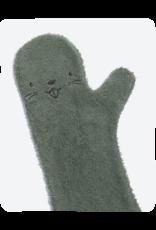 Invented 4 Kids Baby Shower Glove Darkgreen Beaver