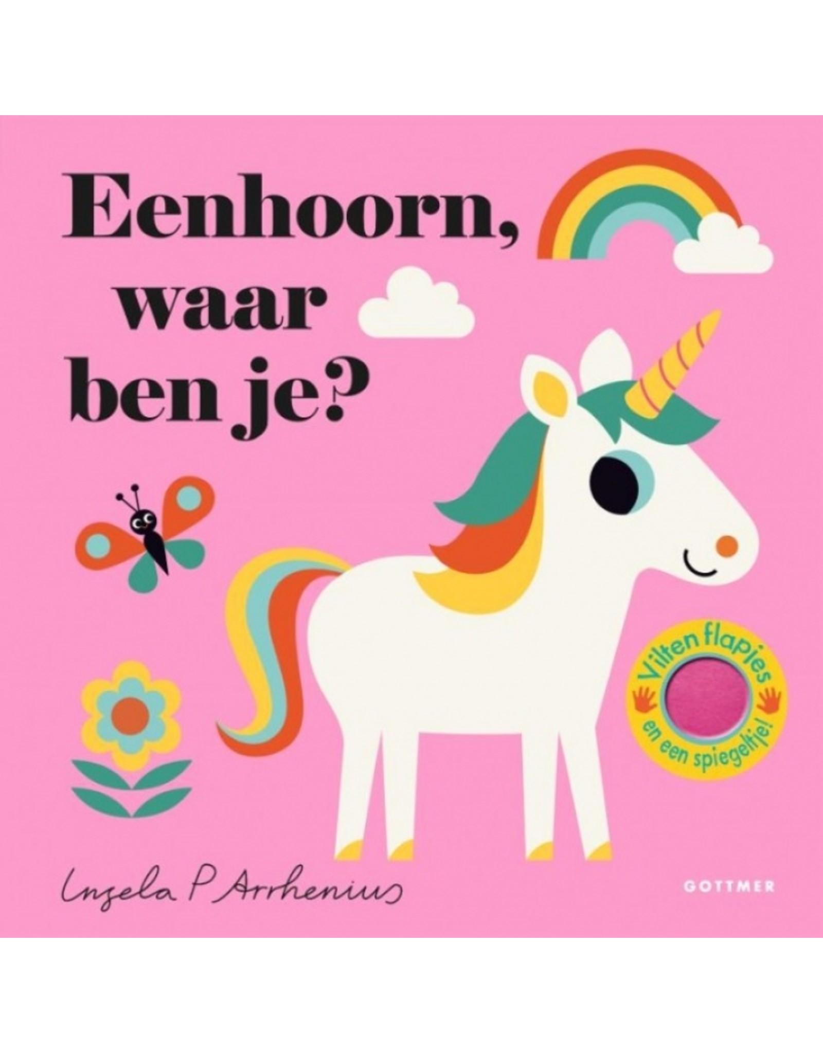Boek - Eenhoorn, waar ben je?