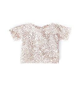 Nuki Nuby Pop - Poppenshirtje – Korte mouw Dots