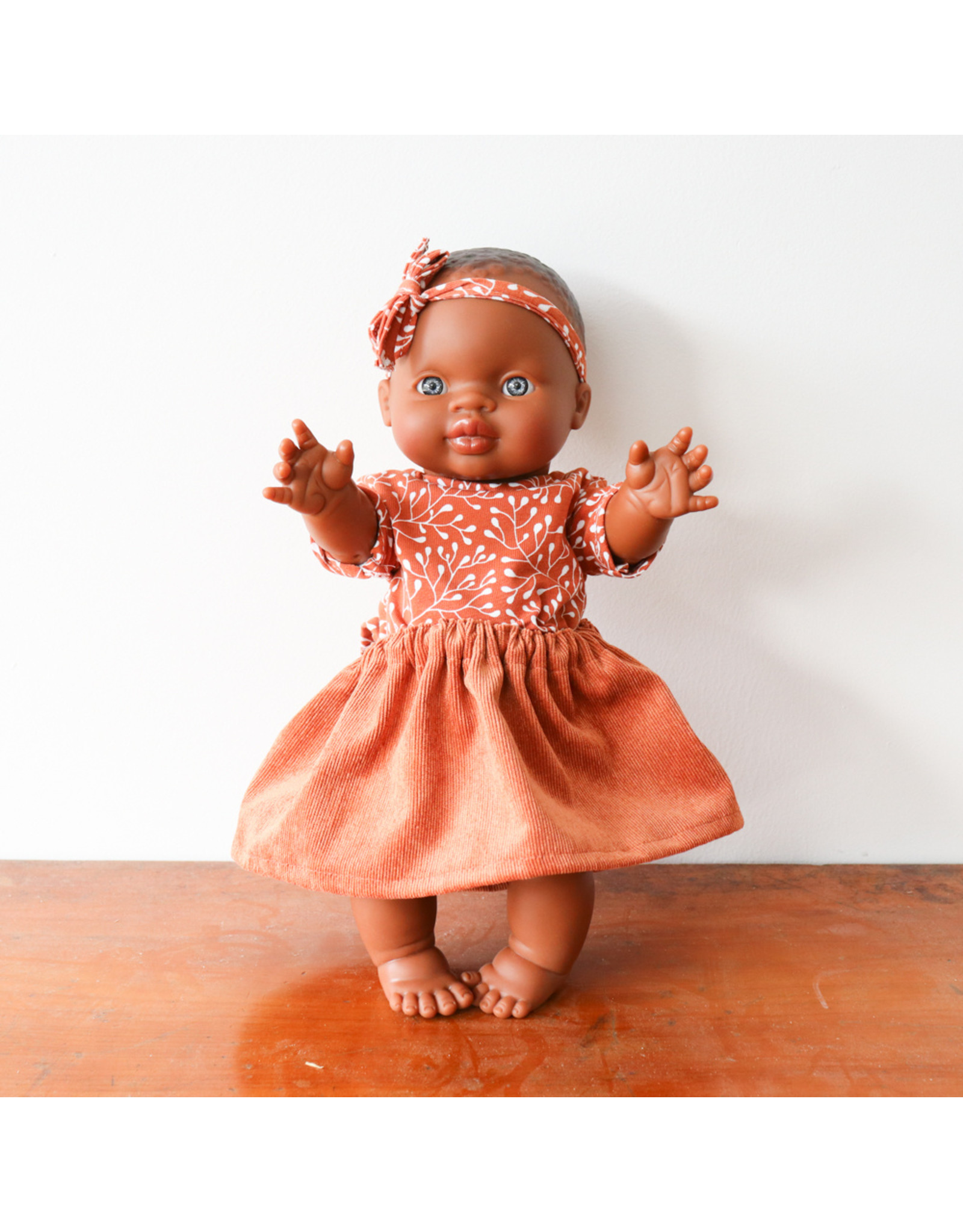 Nuki Nuby Pop - Poppenshirtje – Korte mouw Terra
