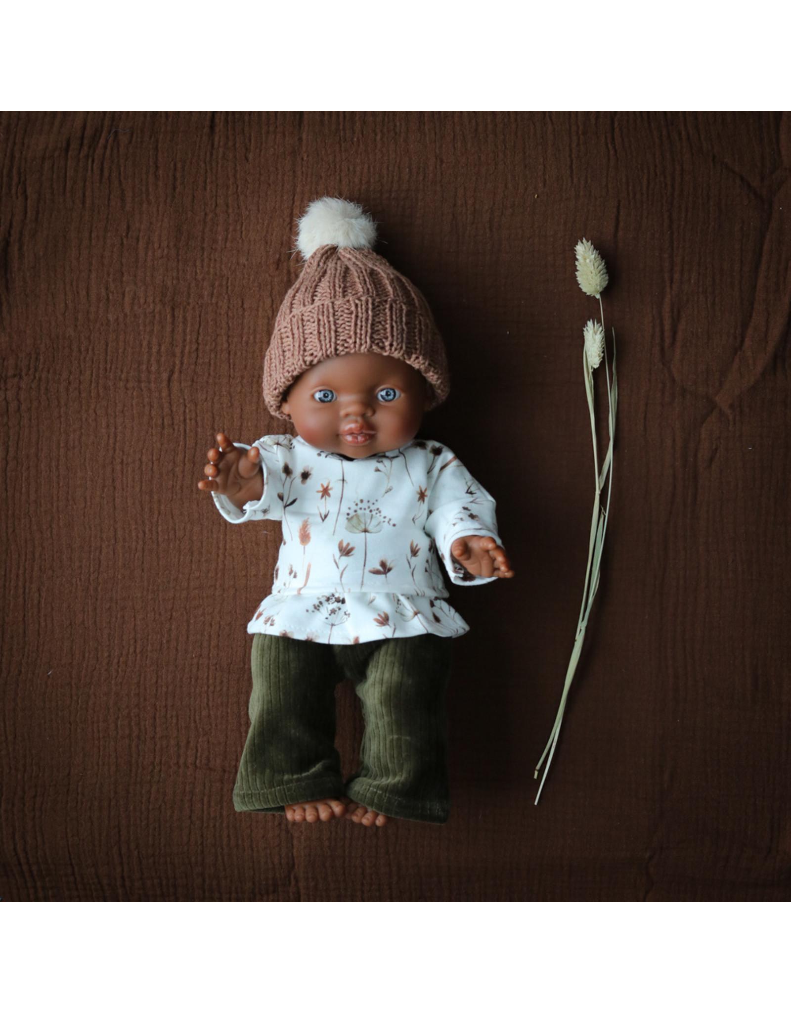 Nuki Nuby Pop - Poppenshirtje – Roesje Autumn