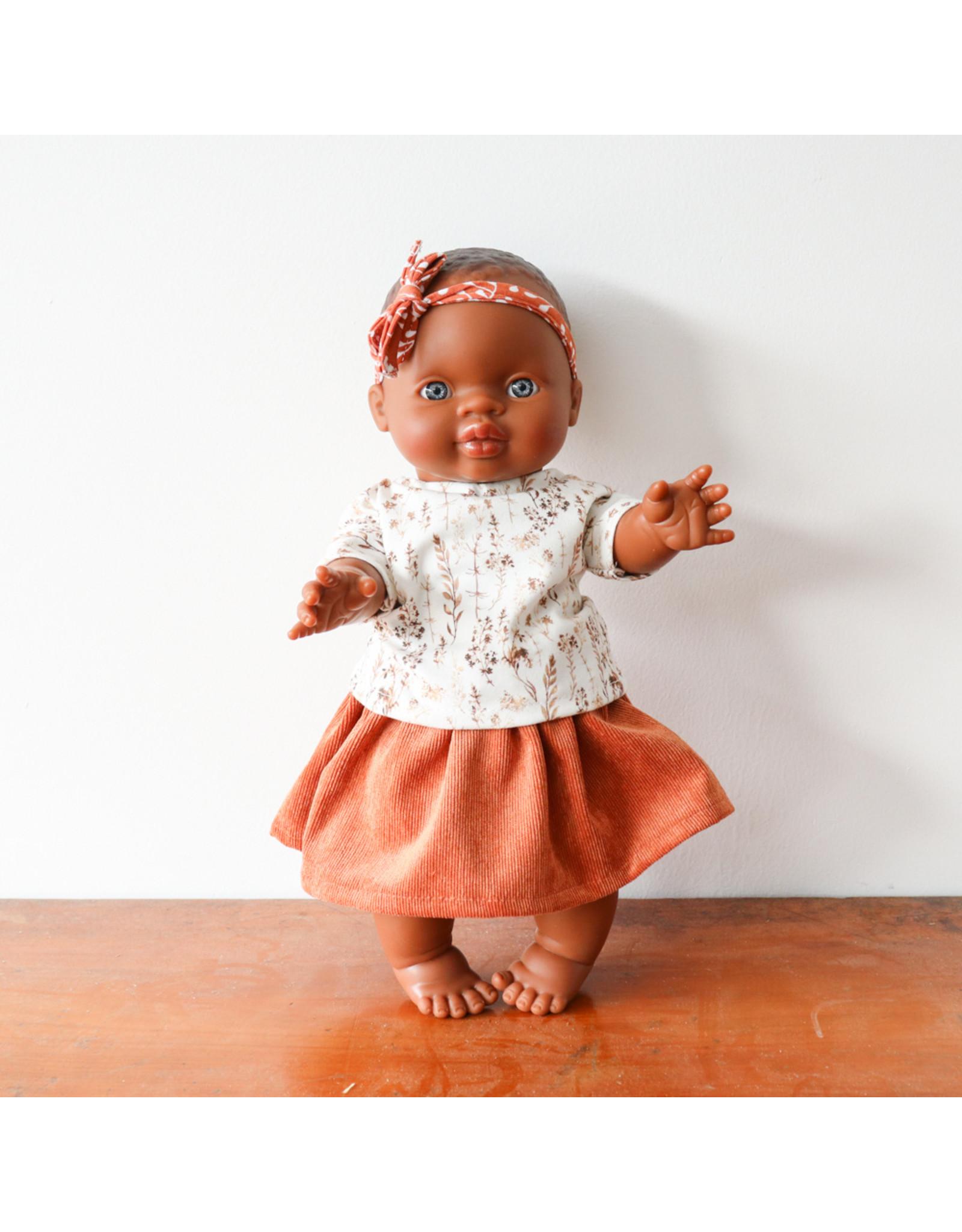 Nuki Nuby Pop - Poppenshirtje – Korte mouw Takjes