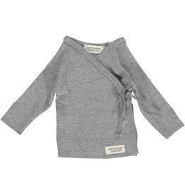 MarMar MarMar - Tut Wrap LS - Grey Melange