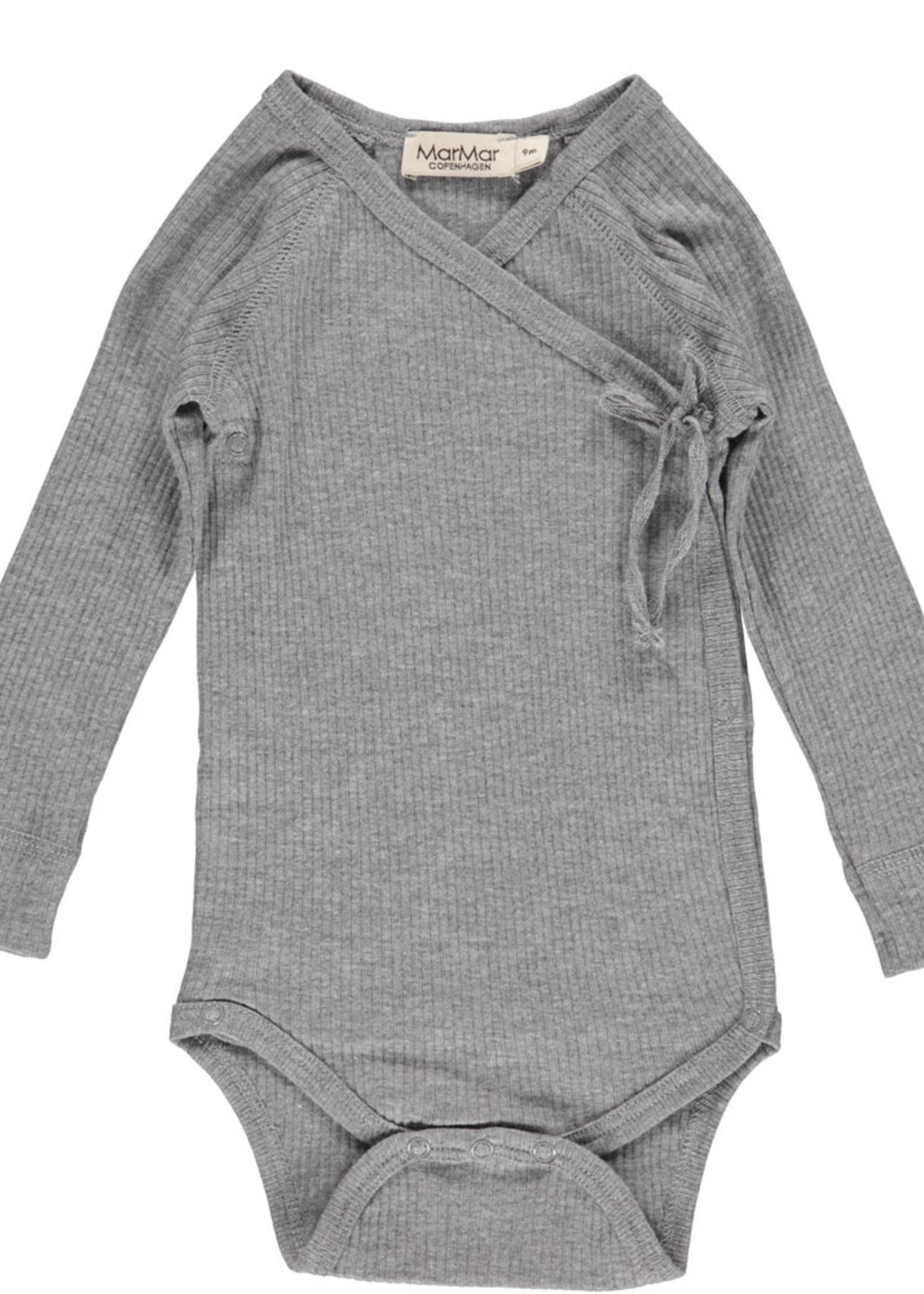 MarMar MarMar - Body Mini LS - Grey Melange