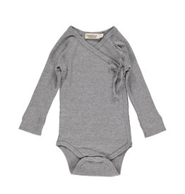 MarMar MarMar - Body Mini LS - Grey Melange