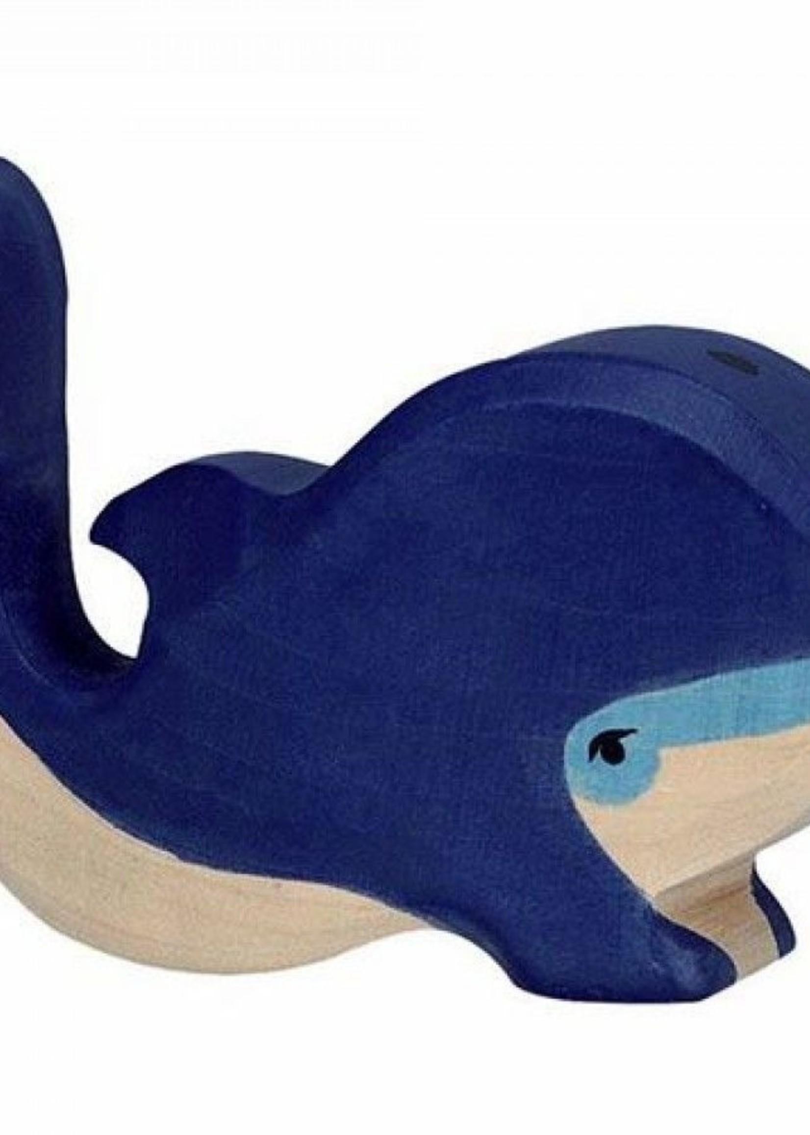Holztiger Holztiger - Blauwe Walvis