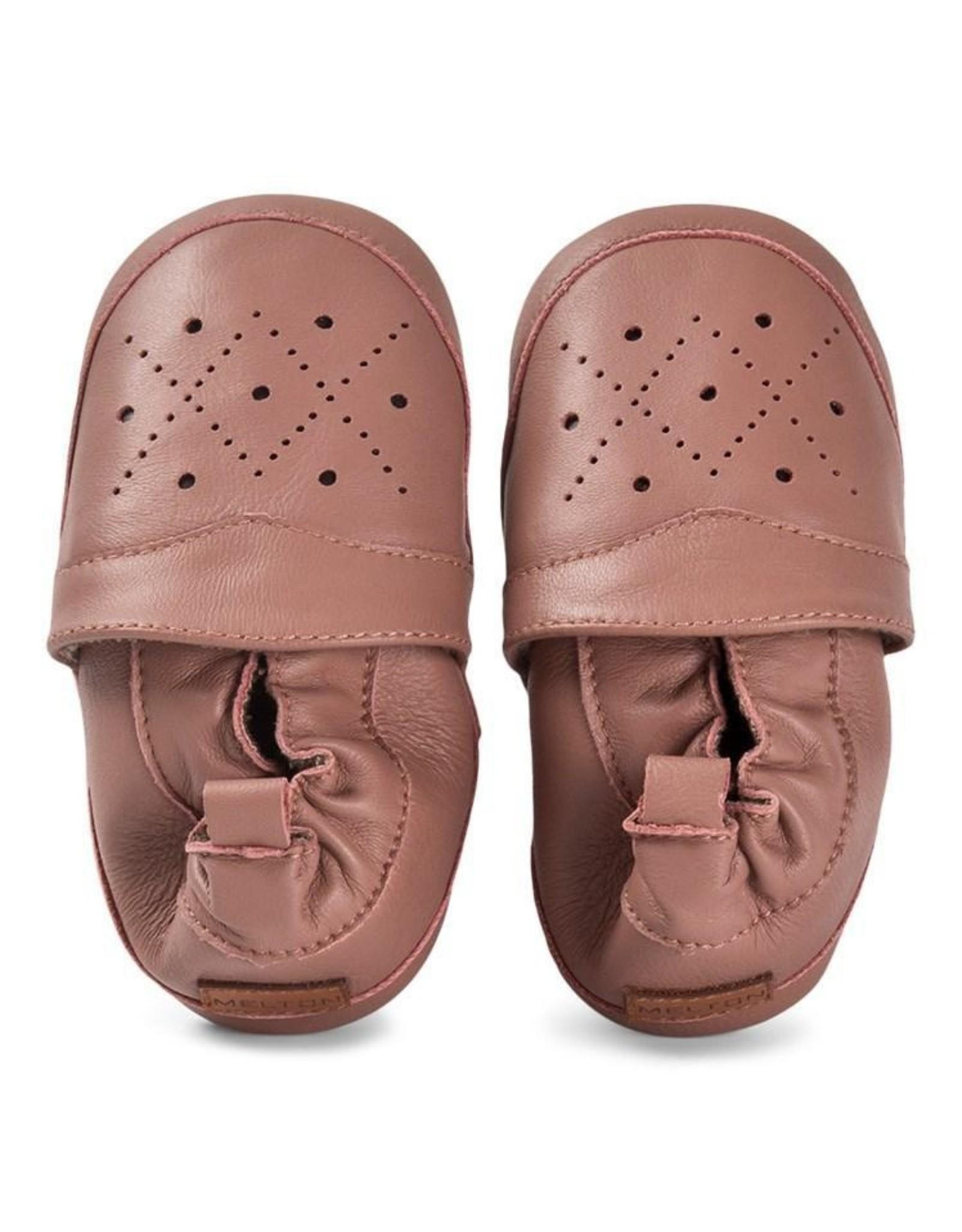 MP Denmark MP - Leather Shoe - Argyle - Burlwood