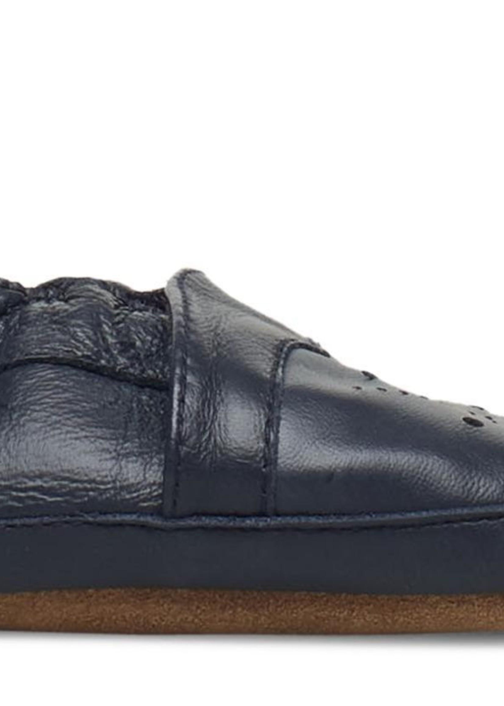 MP Denmark MP - Leather Shoe - Argyle - Marine
