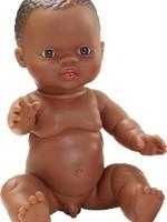 Poala Reina Pop - Gordi jongen (donker), ongekl. 34cm