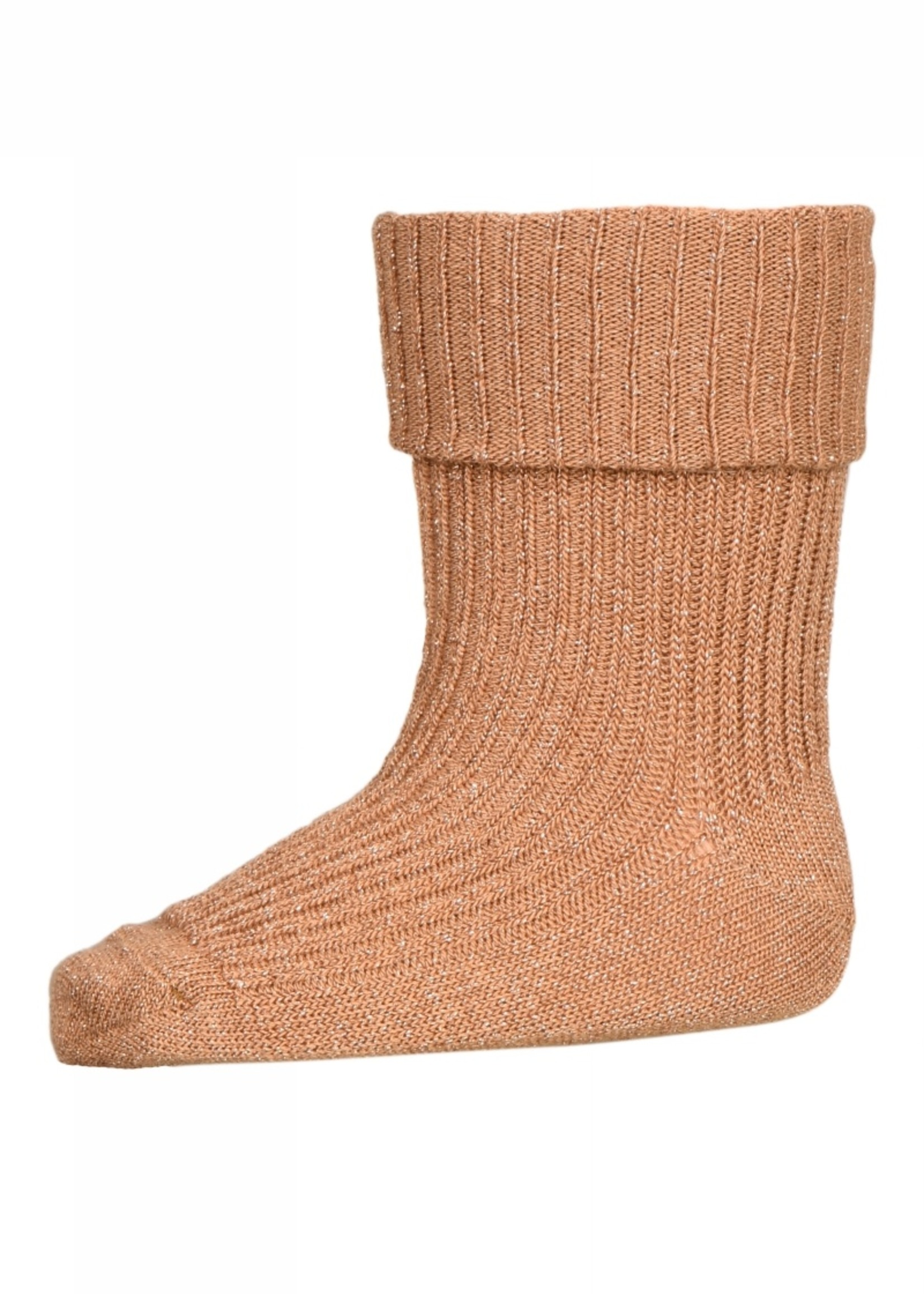 MP Denmark Ida glitter socks - Apple Cinnamon