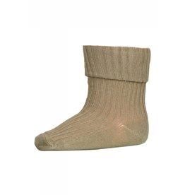 MP Denmark Cotton rib baby socks - Safari Green