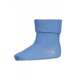 MP Denmark Cotton rib baby socks - Captains Blue