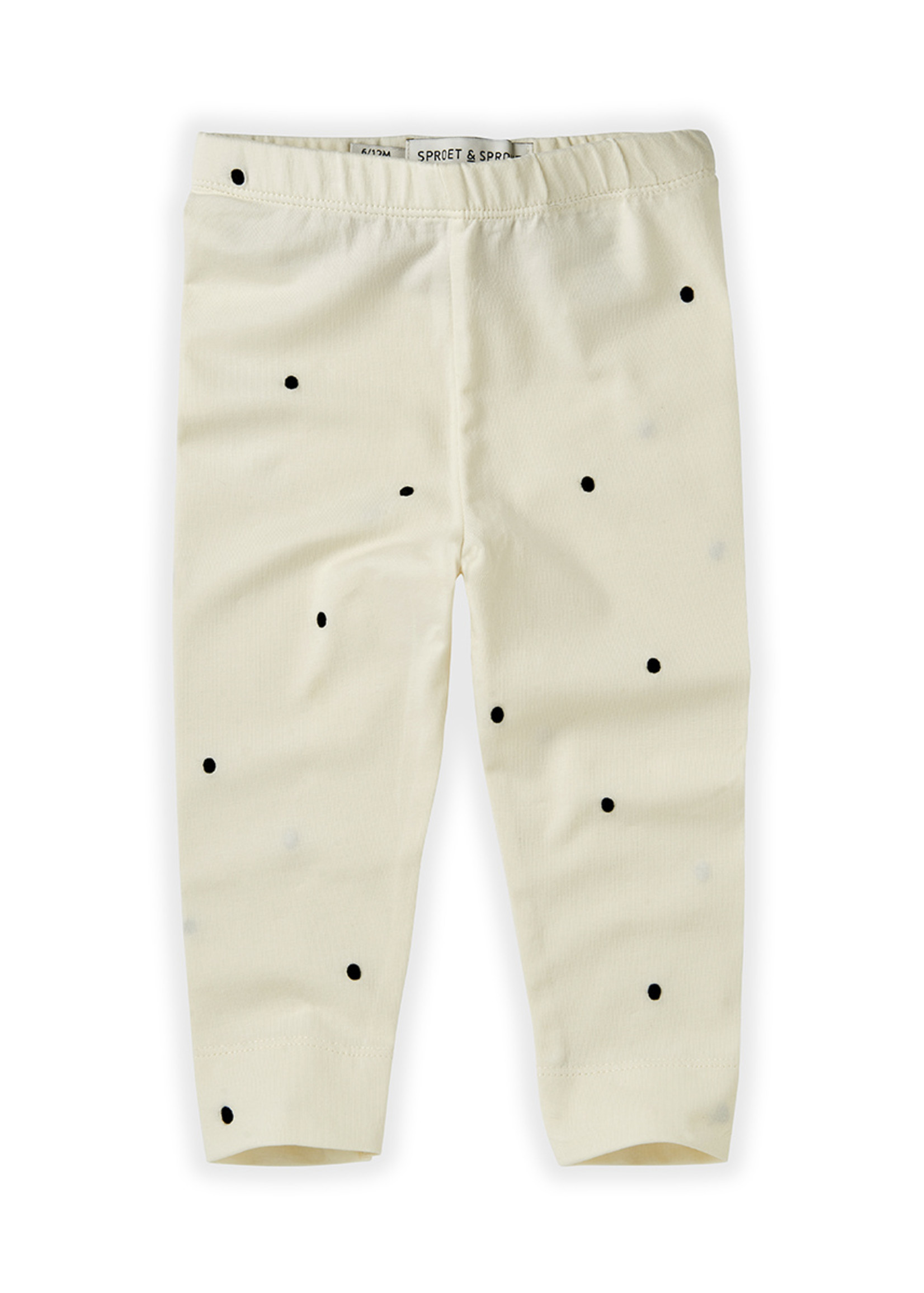 Sproet & Sprout SS - Legging Dots - Offwhite