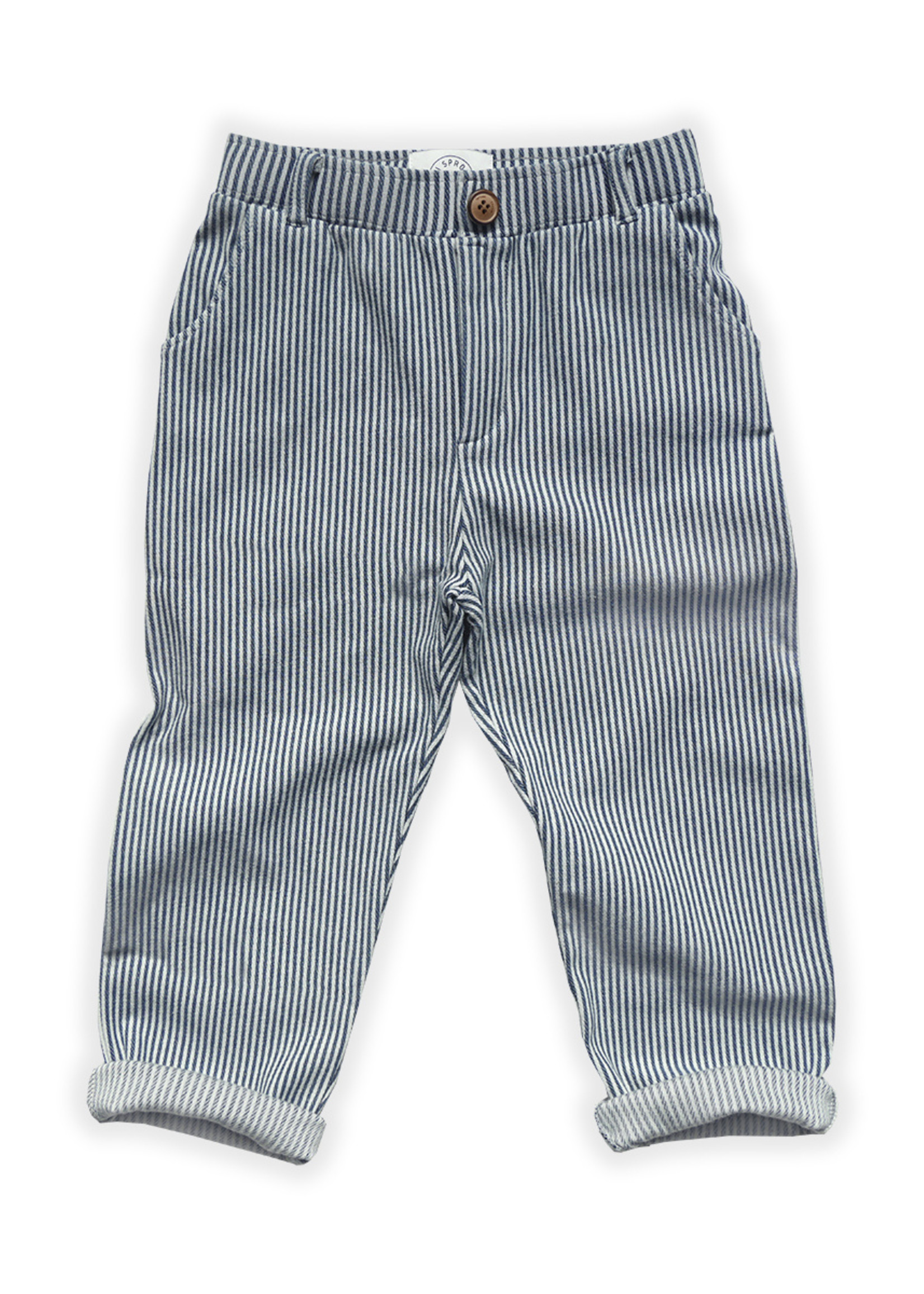 Sproet & Sprout SS - Chino Pants Denim Stripe