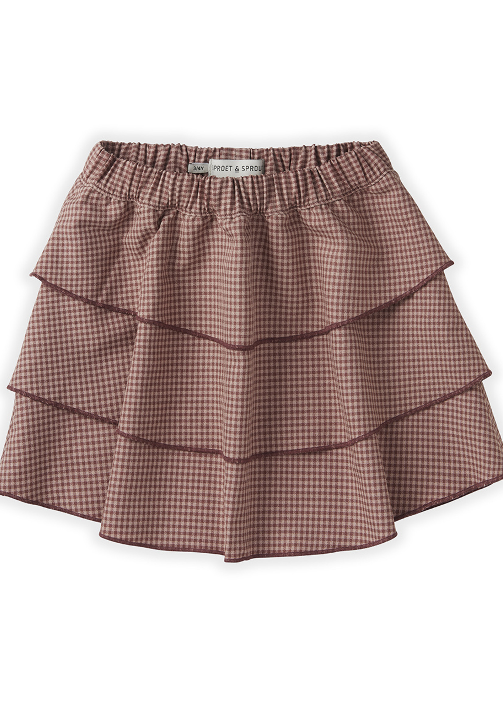 Sproet & Sprout SS - Skirt Mini Check
