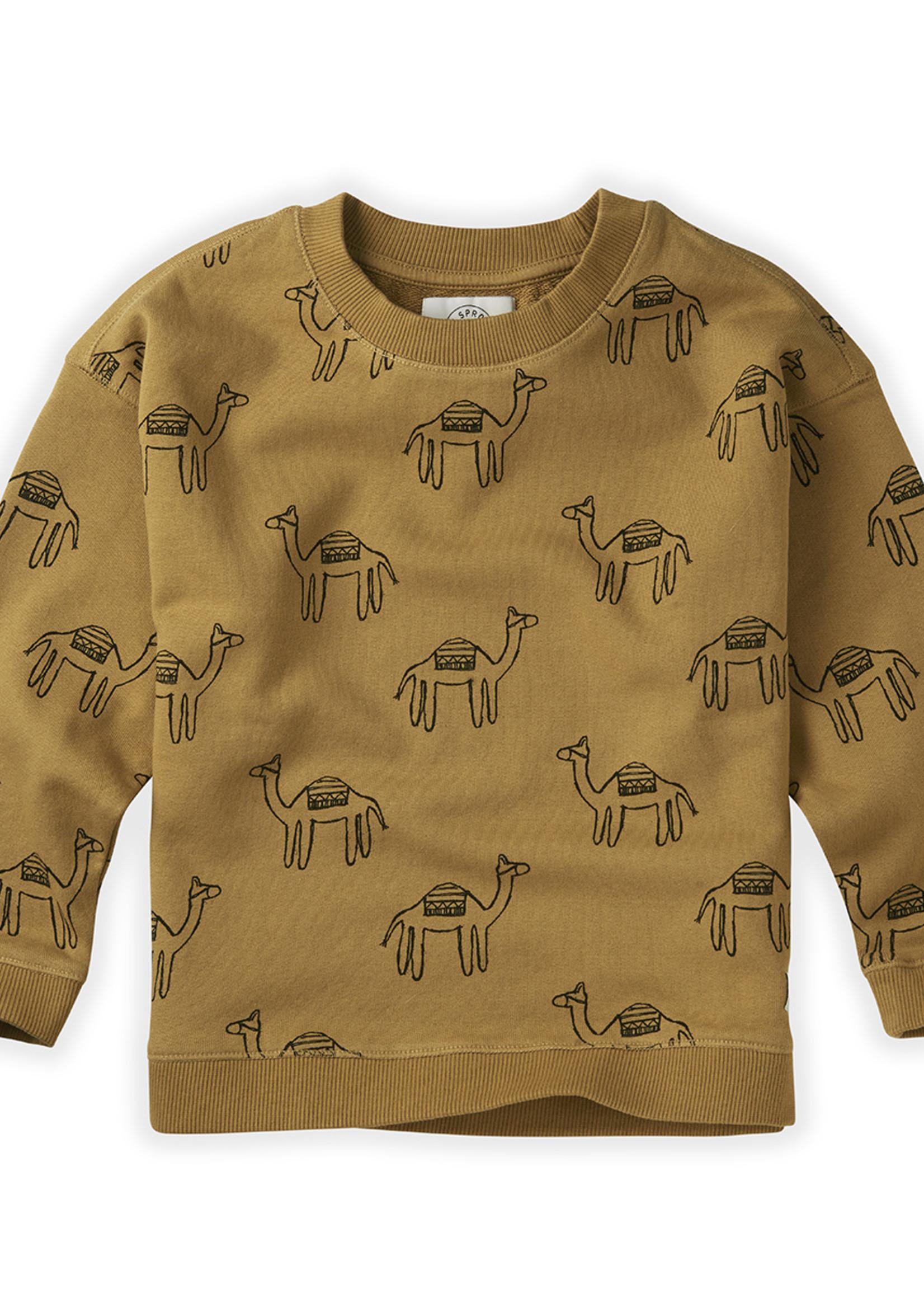 Sproet & Sprout SS - Sweatshirt Print Camel