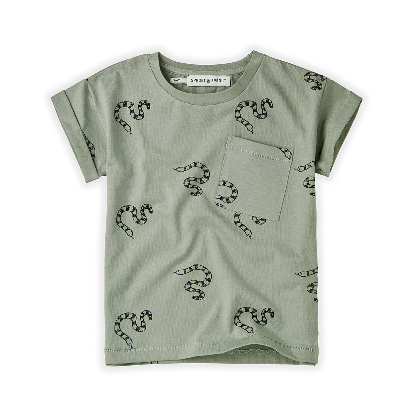 Sproet & Sprout SS - T-shirt Print Snake