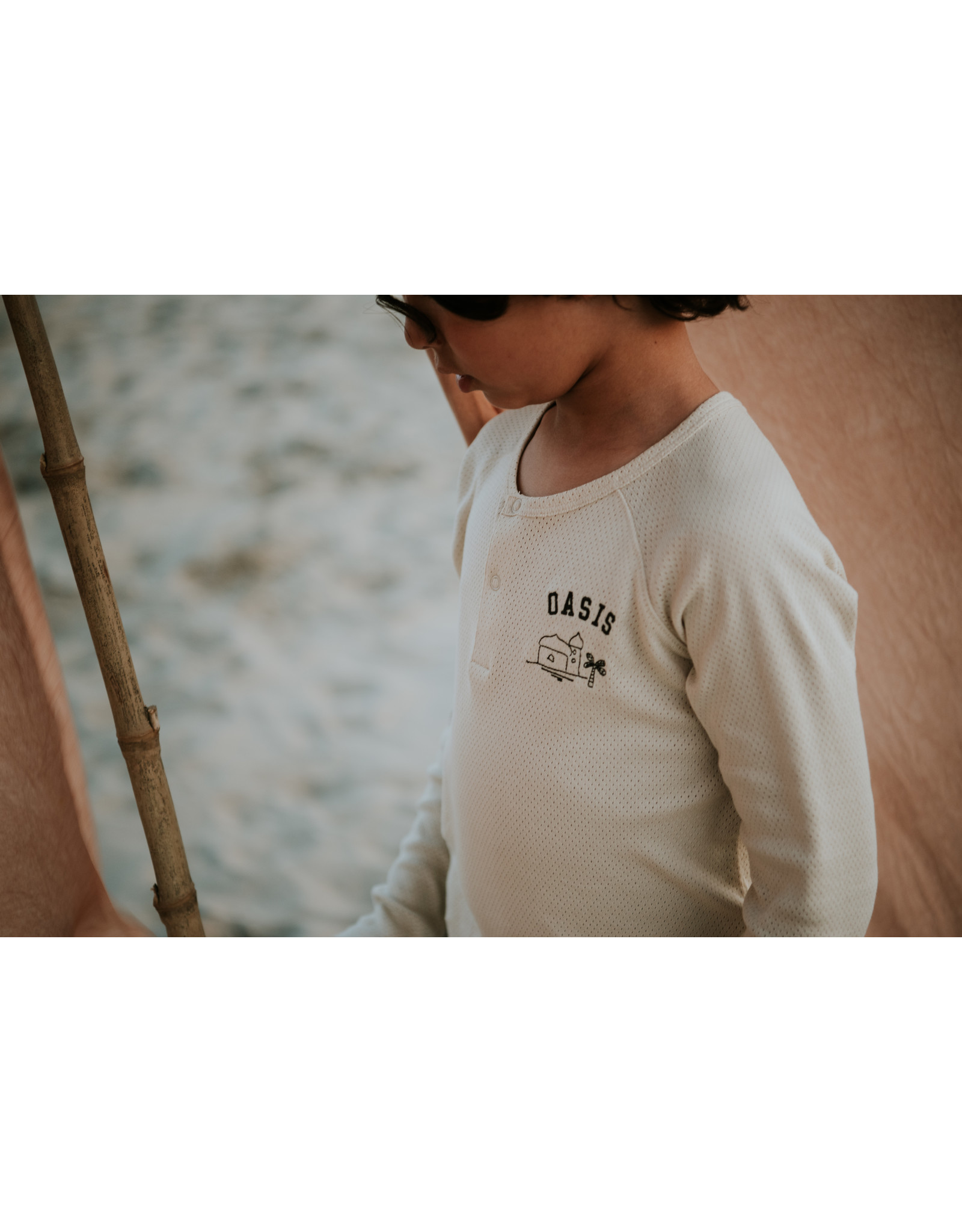 Sproet & Sprout SS- Granddad T-shirt Oasis
