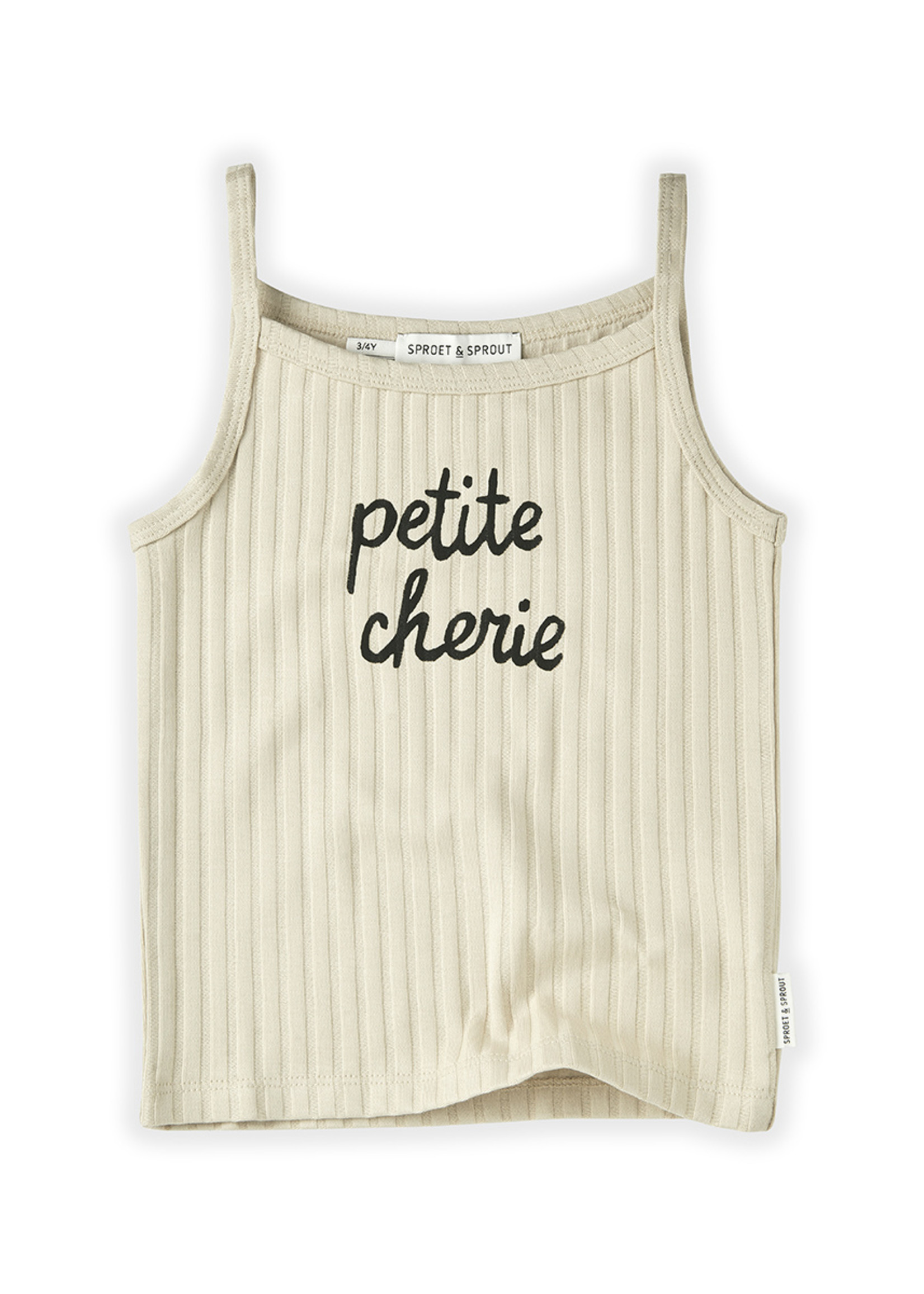 Sproet & Sprout SS - Tanktop Rib Petite Cherie