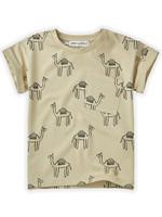 Sproet & Sprout SS - T-shirt Print Camel Sesam