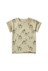 Sproet & Sprout SS - T-shirt Print Camel Sesam