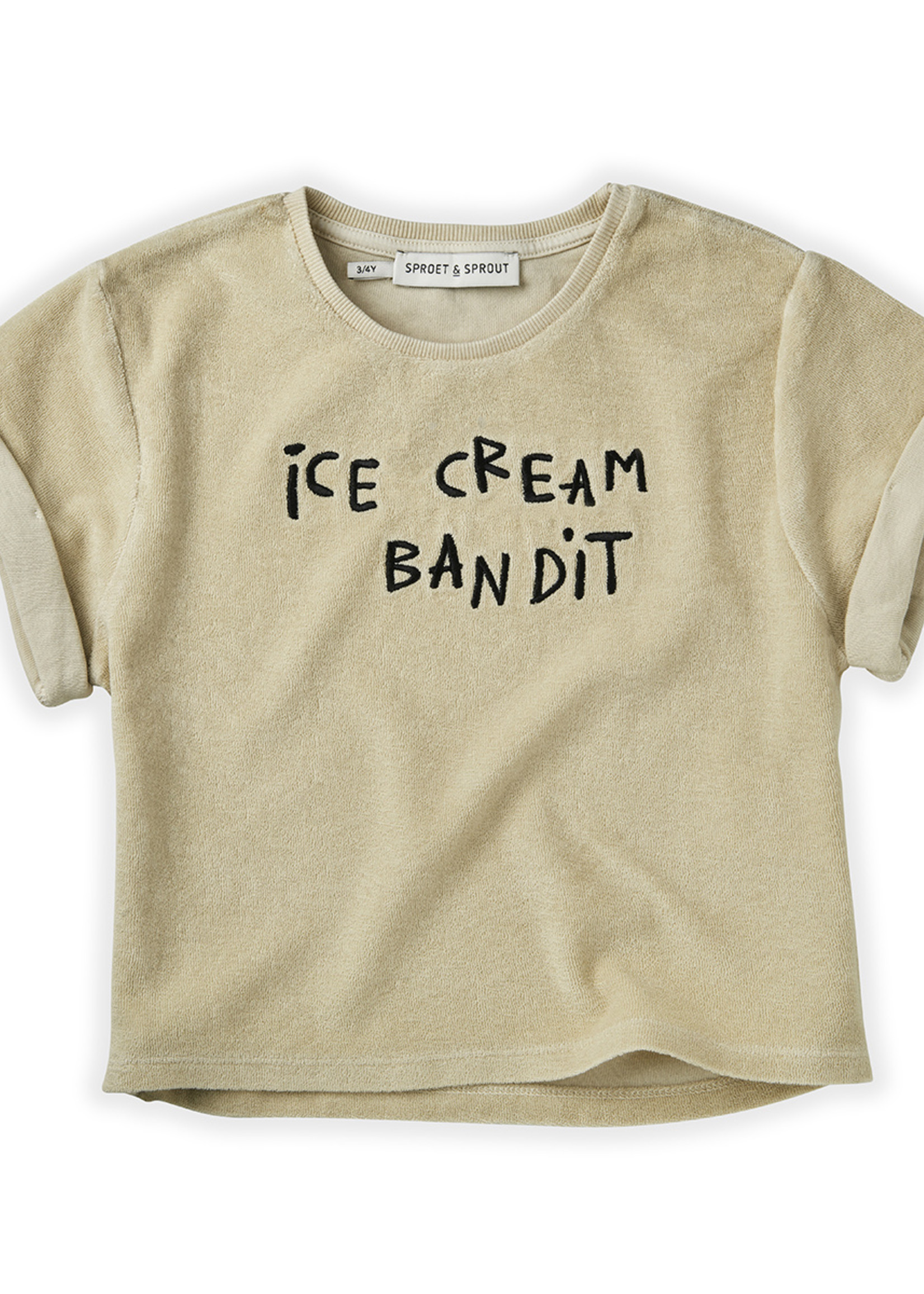 Sproet & Sprout SS - Sweat T-shirt Terry Icecream Bandit