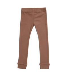 Blossom Kids BK - Legging rib - Smoked Hazelnut