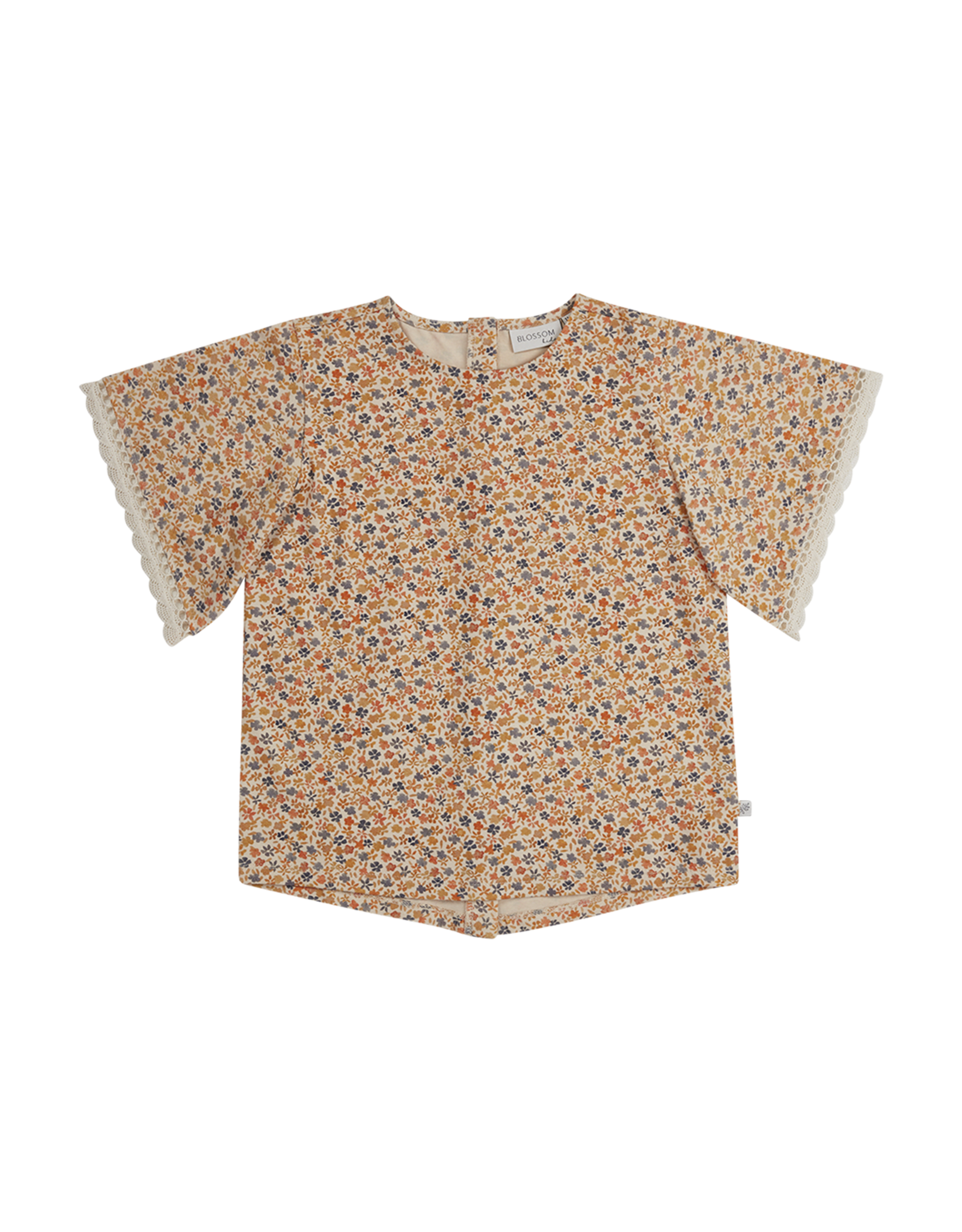 Blossom Kids BK - Tunic Short Sleeves Aquarel Flower