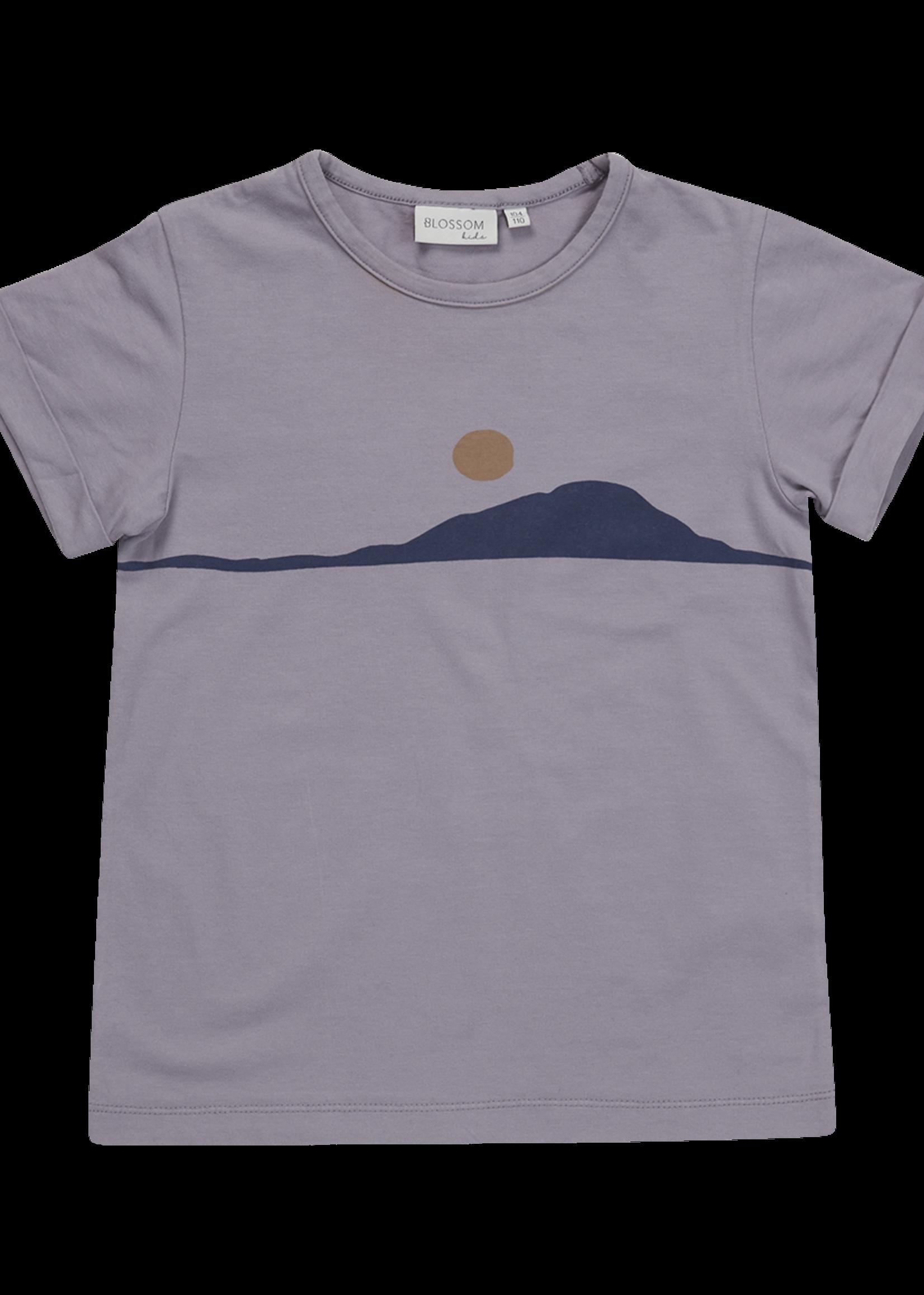Blossom Kids BK - Tshirt Sunset Lilac Grey