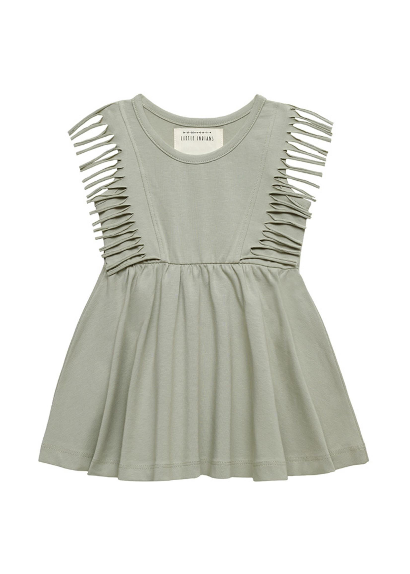 Little Indians LI - Boho Dress Sleeveless Abbey Stone