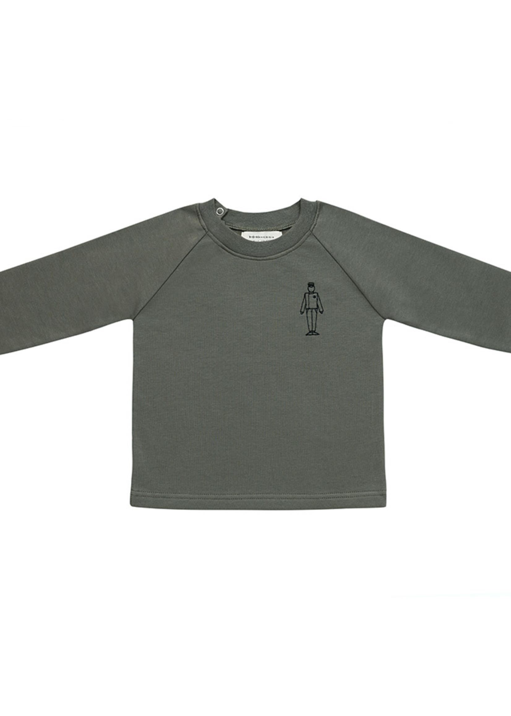 Little Indians LI - Sweater Lift Boy - Dusty Olive