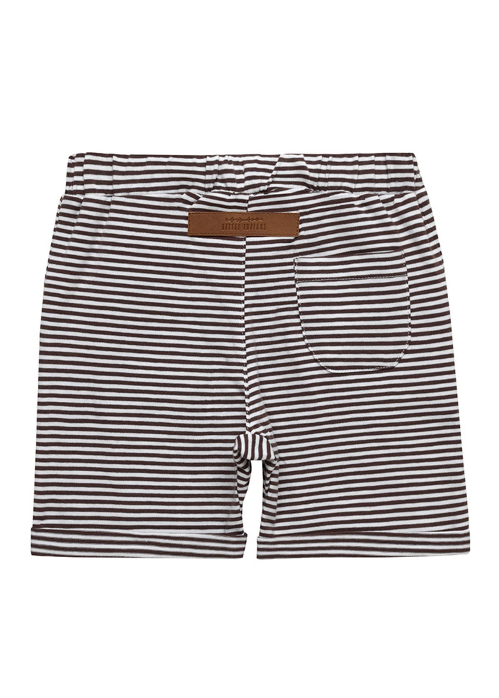 Little Indians LI - Short Brown Stripe