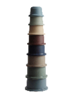Mushie MUSHIE - Stacking cups - Forrest
