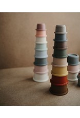 Mushie Stacking cups - Forrest