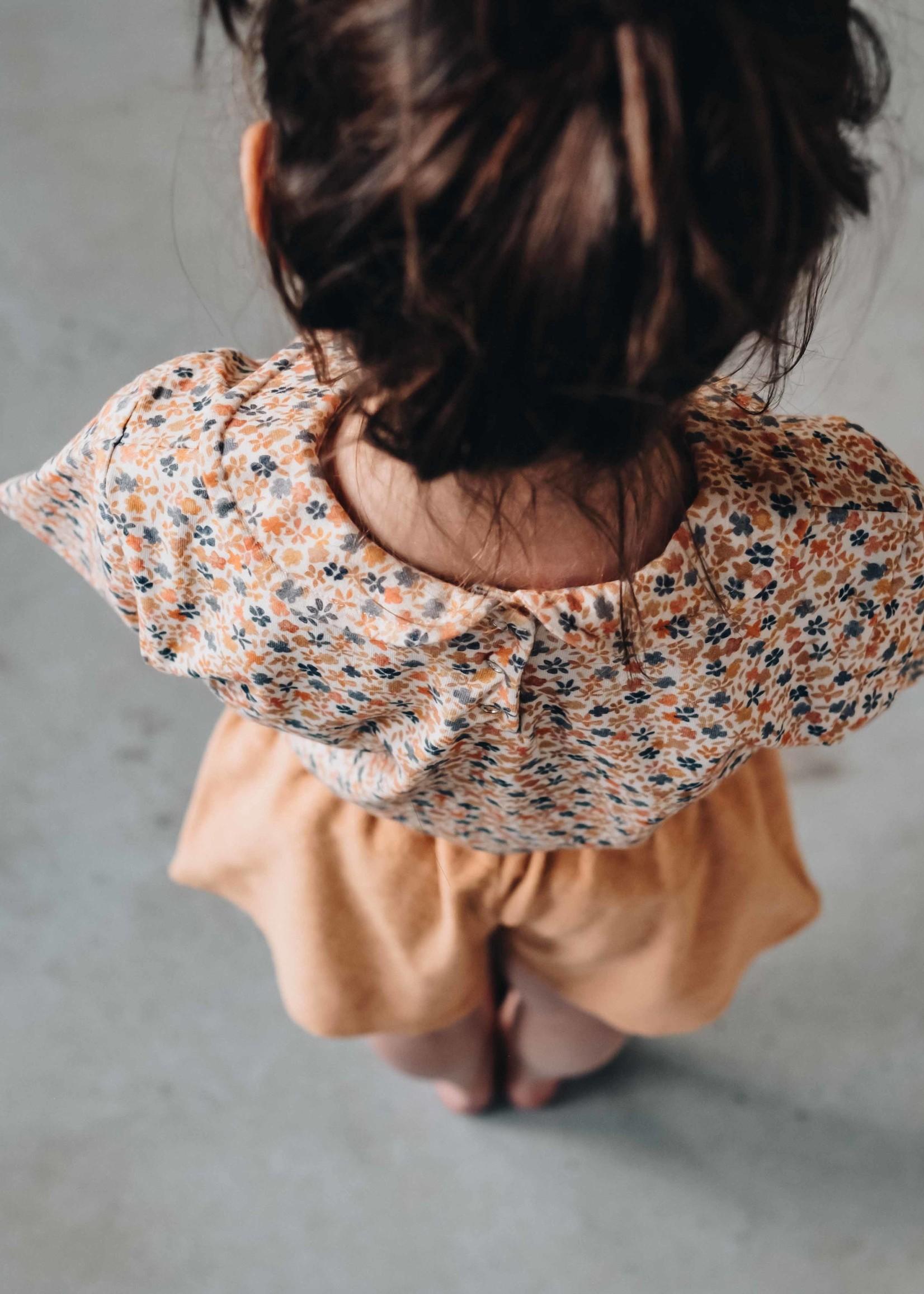 Blossom Kids BK - Terry paperbag short Honey
