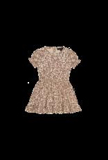 House of Jamie HOJ - Frill Dress Golden Rose Dawn Blossom