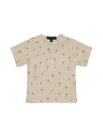 House of Jamie HOJ - Henley Shirt Oatmeal Kites