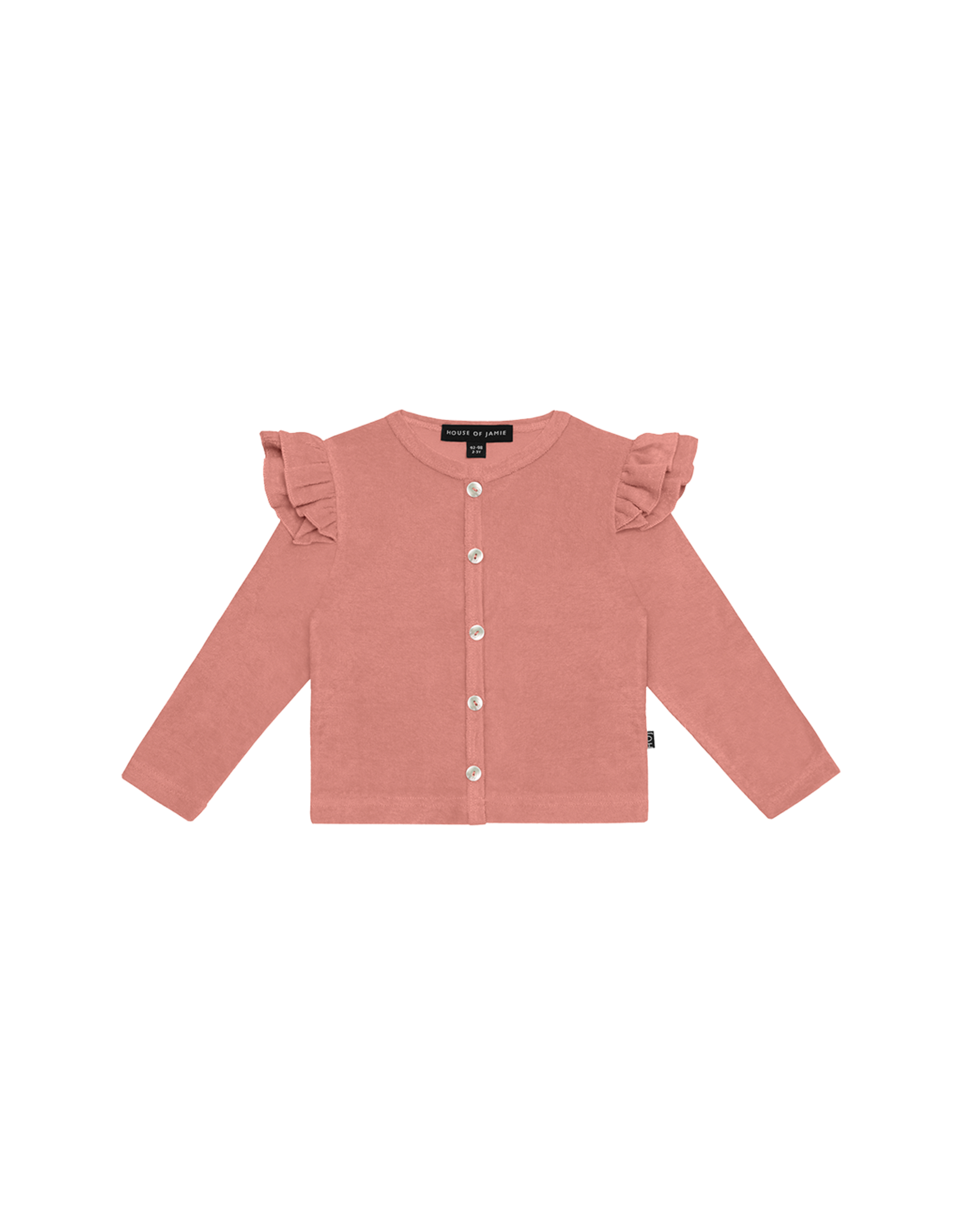 House of Jamie HOJ - Girls Cardigan Rose Dawn