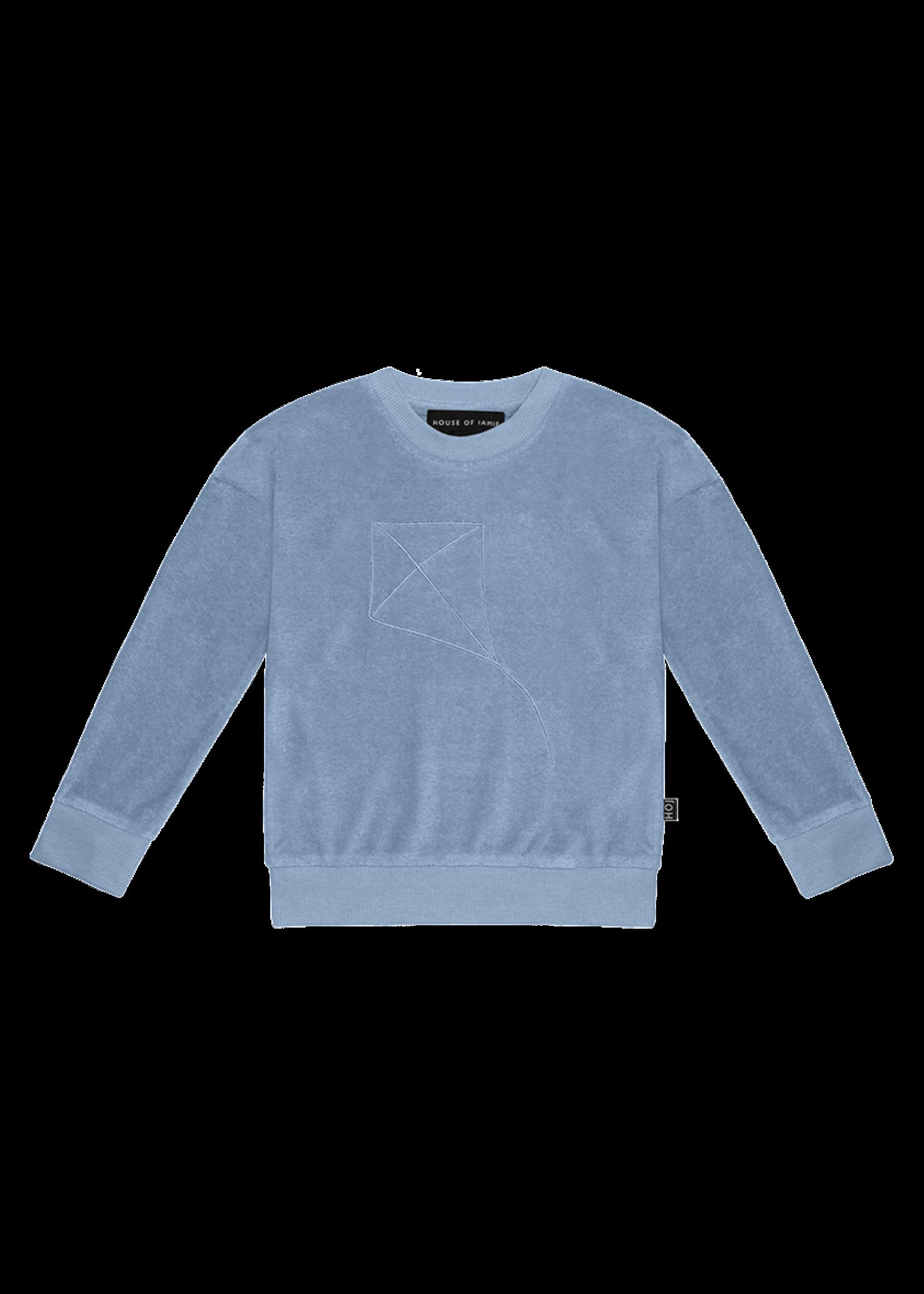 House of Jamie HOJ - Crewneck Sweater Faded Denim