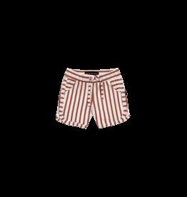 House of Jamie HOJ - Swim Gym Shorts Baked Clay Stripes